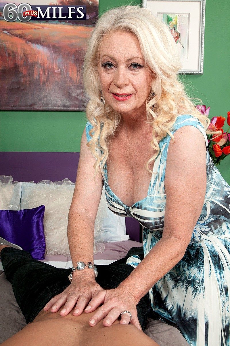 Facially Yours Free Pictures from 60 Plus MILFs!